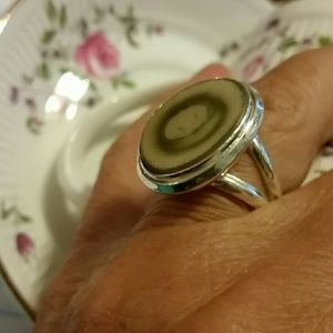 Jewelry - Imperial jasper ring 925 sterling silver 9
